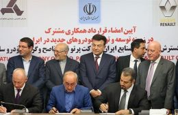 Iran, Renault sign €660m deal